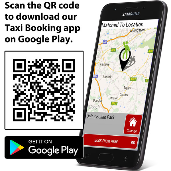 Download the Go Travel Taxi Booking app to your phone.