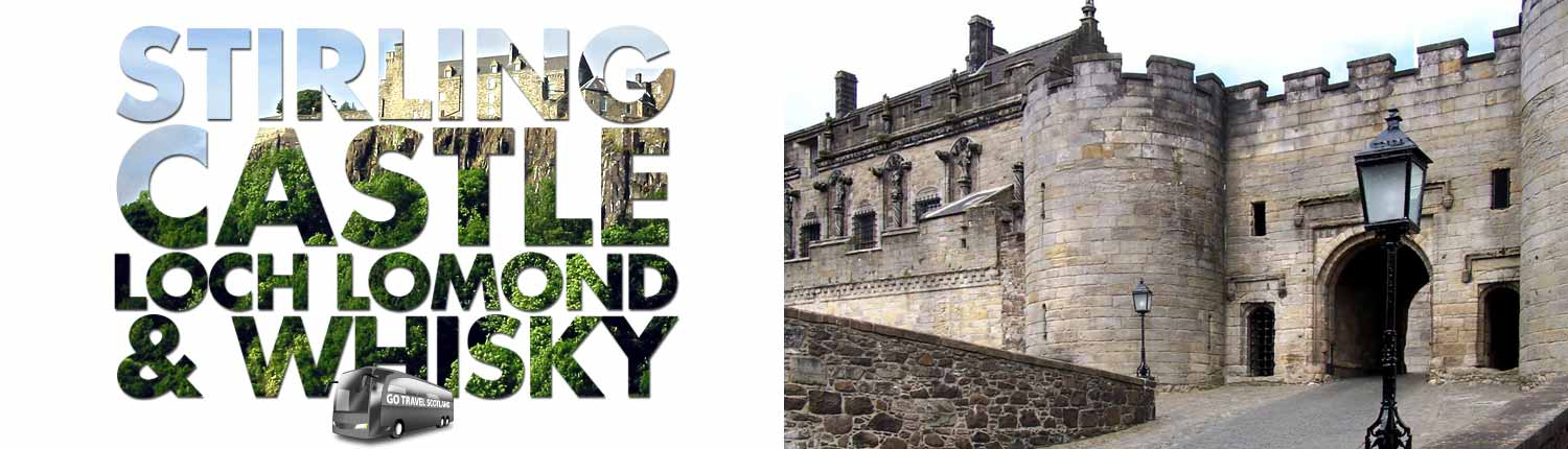 Stirling Castle Day Trip from Edinburgh - Go Travel Scotland