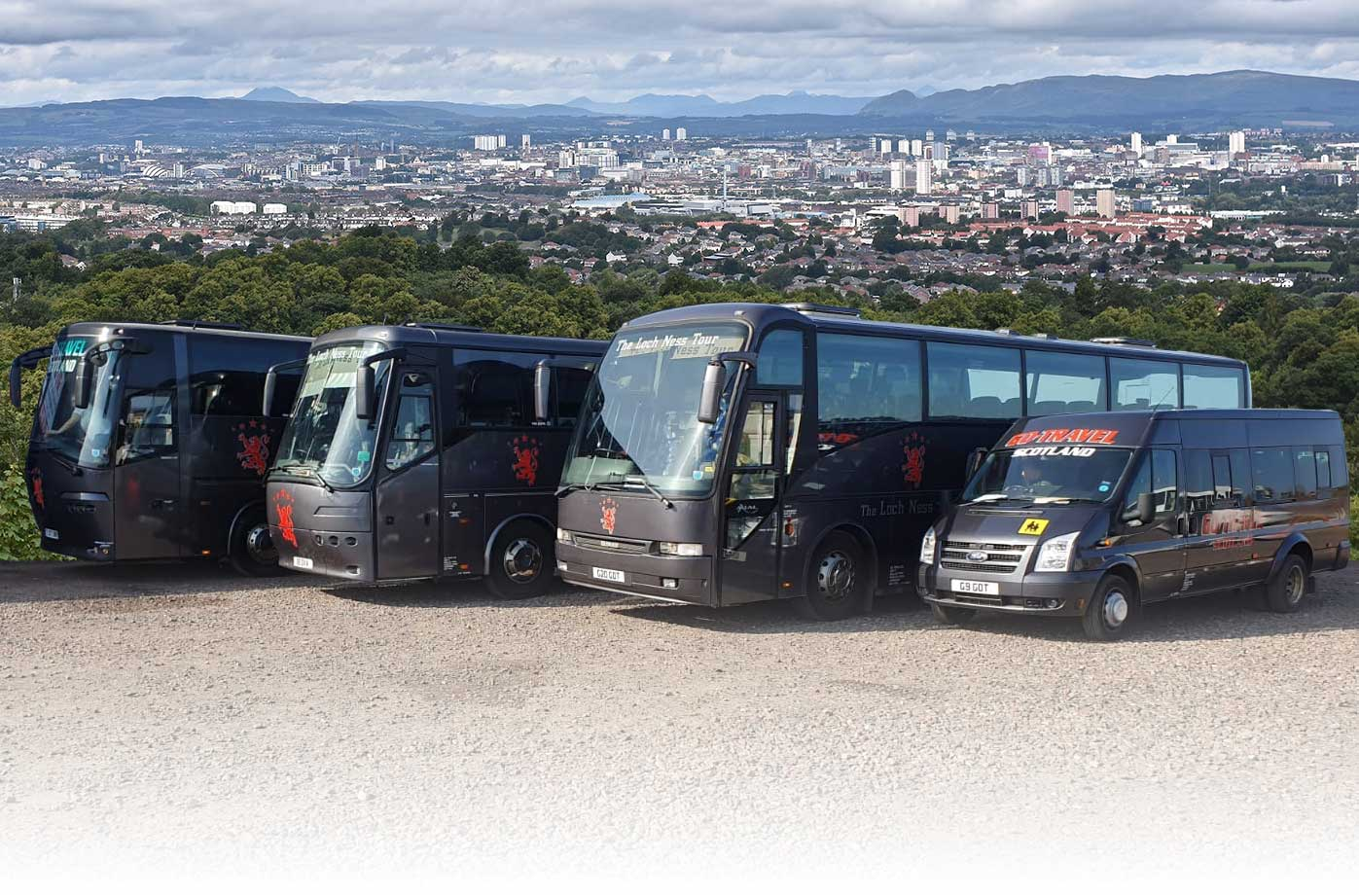 Lanarkshire Glasgow Minibus and Coach Hire - Go Travel Scotland