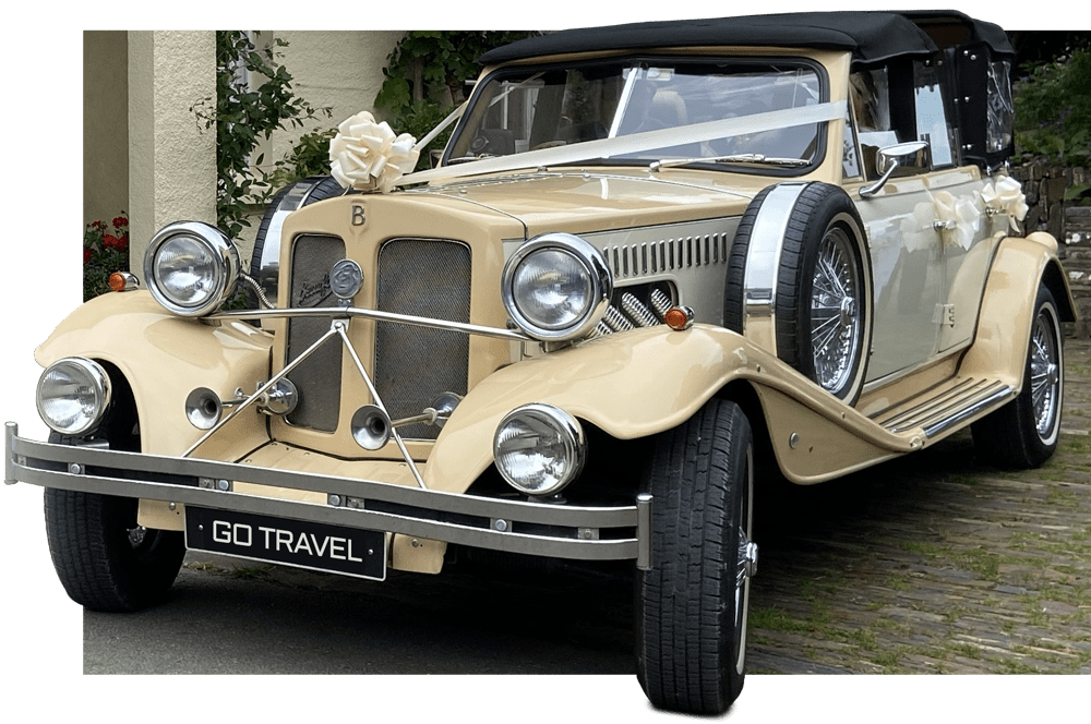 Wedding Car Hire - Go Travel Scotland