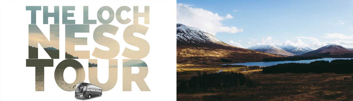 Loch Ness Coach Tour, Loch Tulla - Go Travel Scotland
