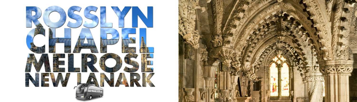 Rosslyn Chapel, Da Vinci Code Day Trip from Edinburgh - Go Travel Scotland