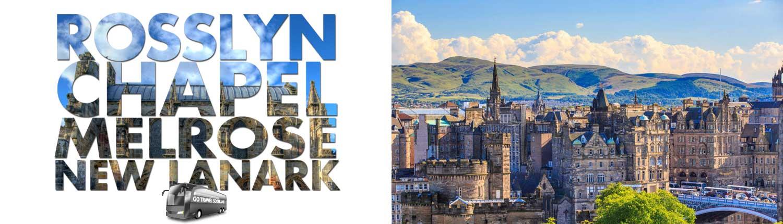 Rosslyn Chapel, Melrose and New Lanark Bus Tour from Edinburgh - Go Travel Scotland