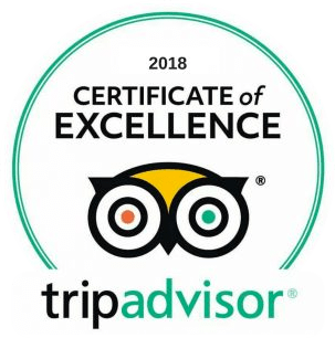 Trip Advisor Certificate of Excellence - Go Travel Scotland